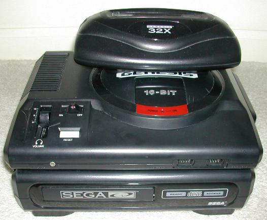 Sega Genesis with Sega CD and 32X $199.99